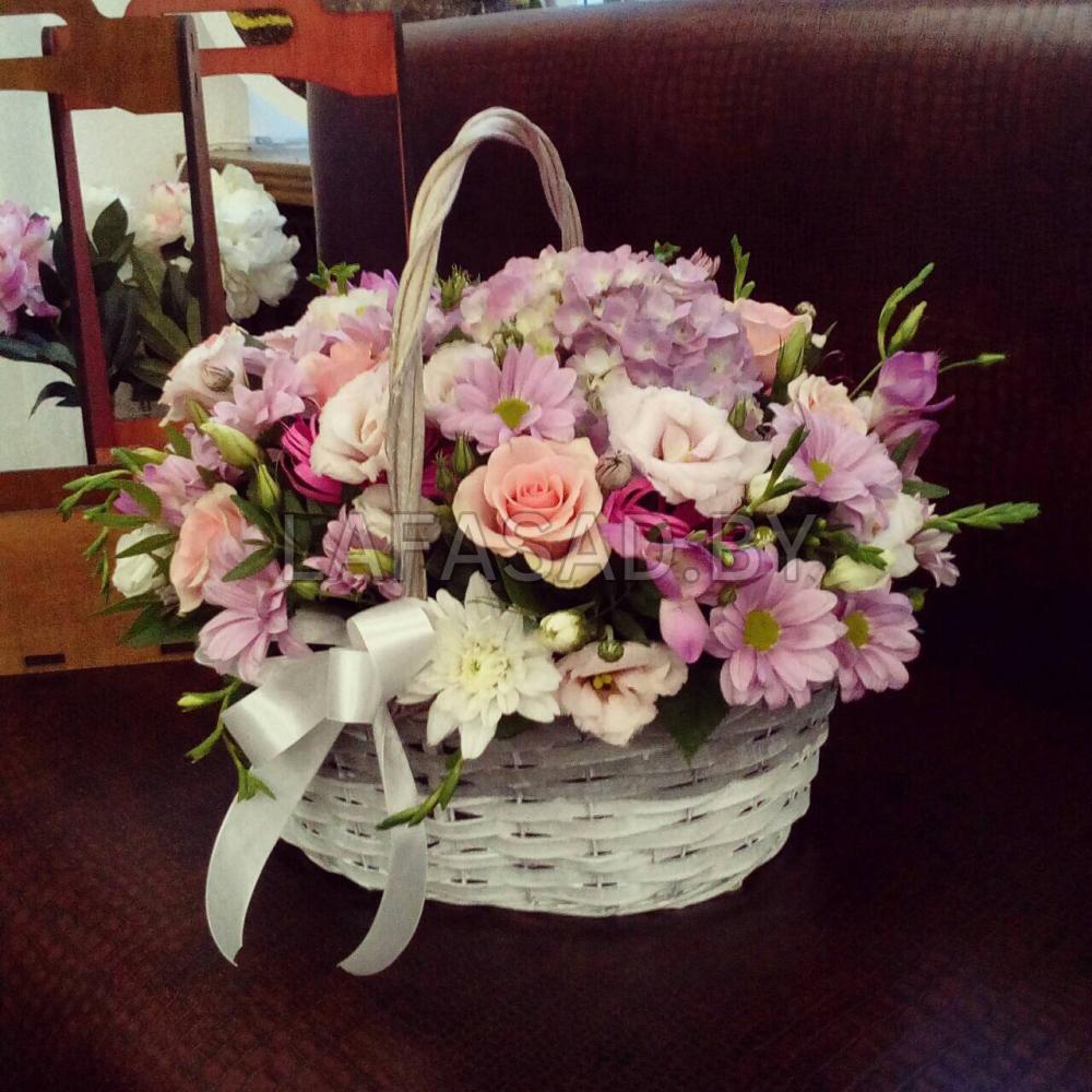 Цветы, заказать на дом корзину цветов спб
